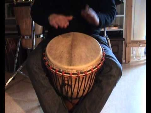Djembe rhythms and grooves for kids, Kuku, Patatje, Kono