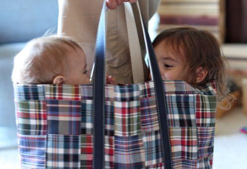 Kids in a bag:)