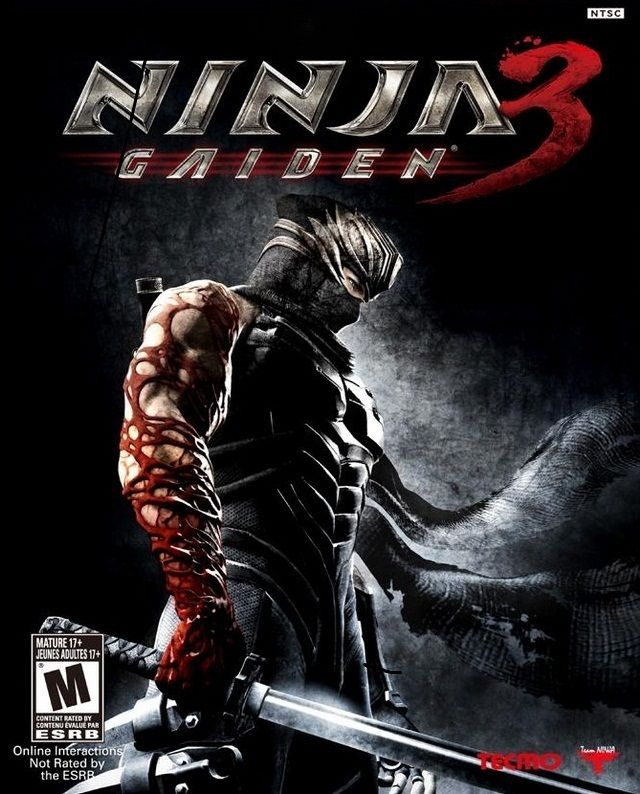 Ninja Gaiden 3 Game Ninja Livros