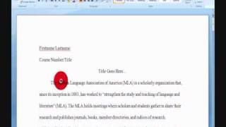 Proposal Argument Essay Topics Mla Format Your Essay In Microsoft Word Via Youtube The Importance Of Learning English Essay also An Essay On Science Mla Format Your Essay In Microsoft Word Via Youtube  Apps I  Thesis For Compare And Contrast Essay