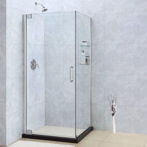 Frameless Corner Showers Foursquare Bathroom In 2019