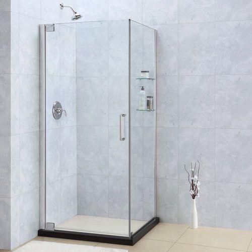 Frameless Corner Showers Foursquare Bathroom Pinterest Corner