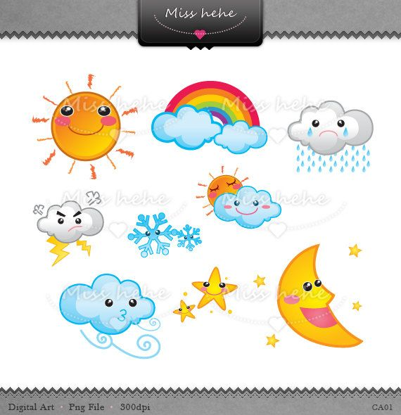 Weather illustrations weather pinterest weather clip art and weather illustrations voltagebd Image collections