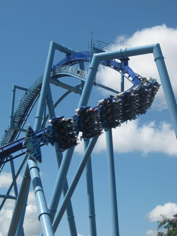 Manta Flying Roller Coaster Seaworld Orlando Disney