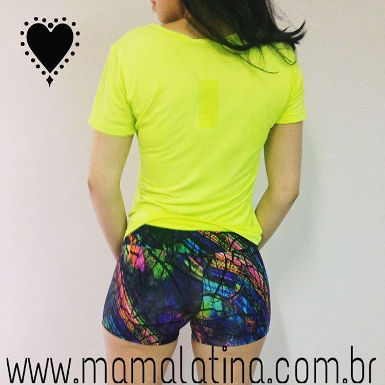 Mama latina activewear on instagram camiseta de dryfrit