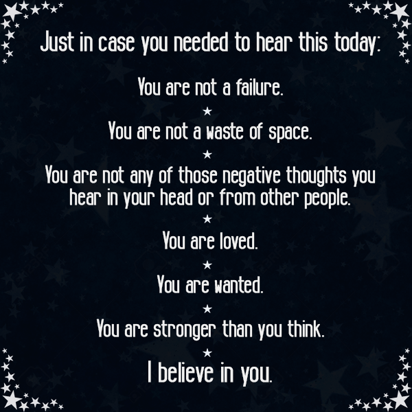 53aa8011e9f Just In Case You Need To Hear This Today. | Wiccan | Failure quotes ...