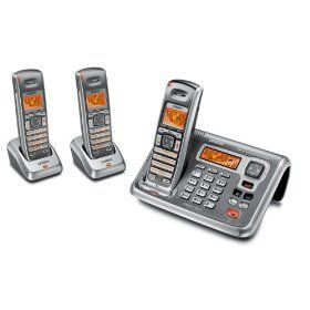 2 4 Ghz Cordless Phone With Digital Answering System White Uniden America Corporation