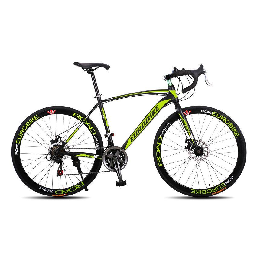 Eurobike Road Bike Xc550 21 Speed Gears Bicycle Dual Disc Brake