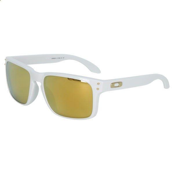 7c9ef95902 OAKLEY Men`s Holbrook Shaun White Gold Series Sunglasses White - EA .
