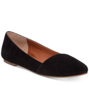 d7a828f0309 Lucky Brand Archh Flats - Black 5.5M Brown Flats