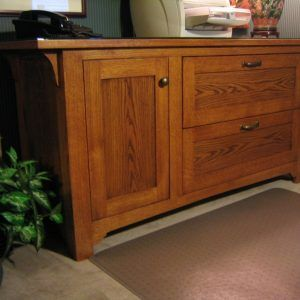 Mission Style File Cabinet Plans