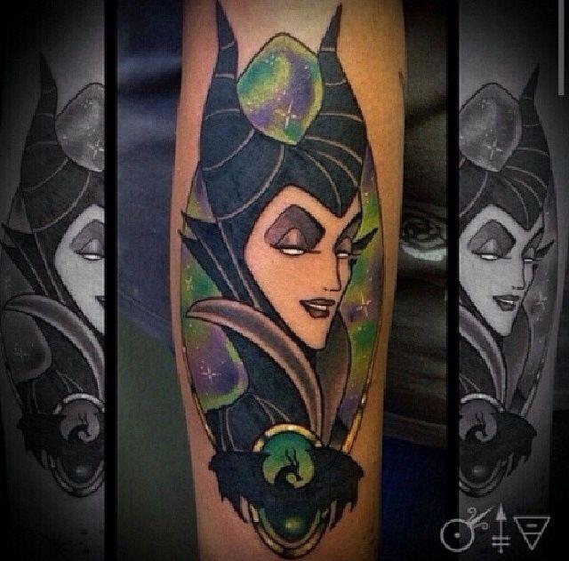 Maleficent Tattoo Villains Of Disney Maleficent Tattoo