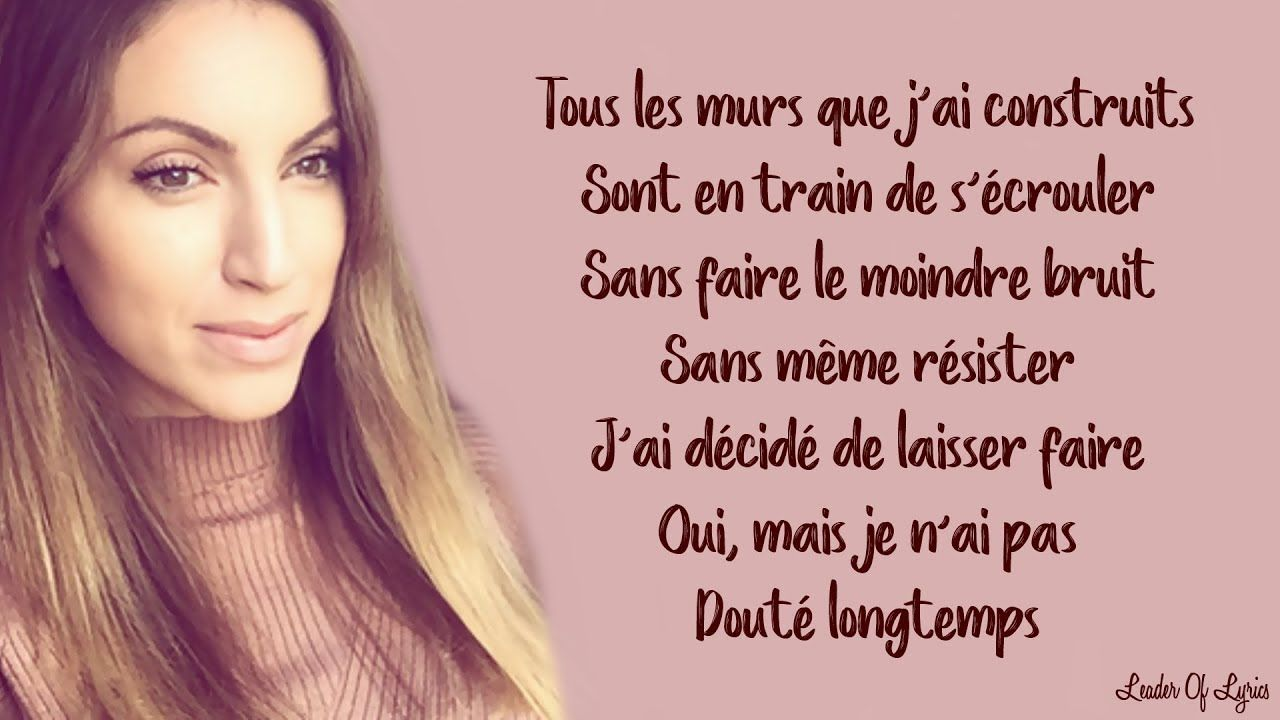 Halo French Version Beyonce Sara H Cover Lyrics Paroles Parole French Songs Tears For Fears