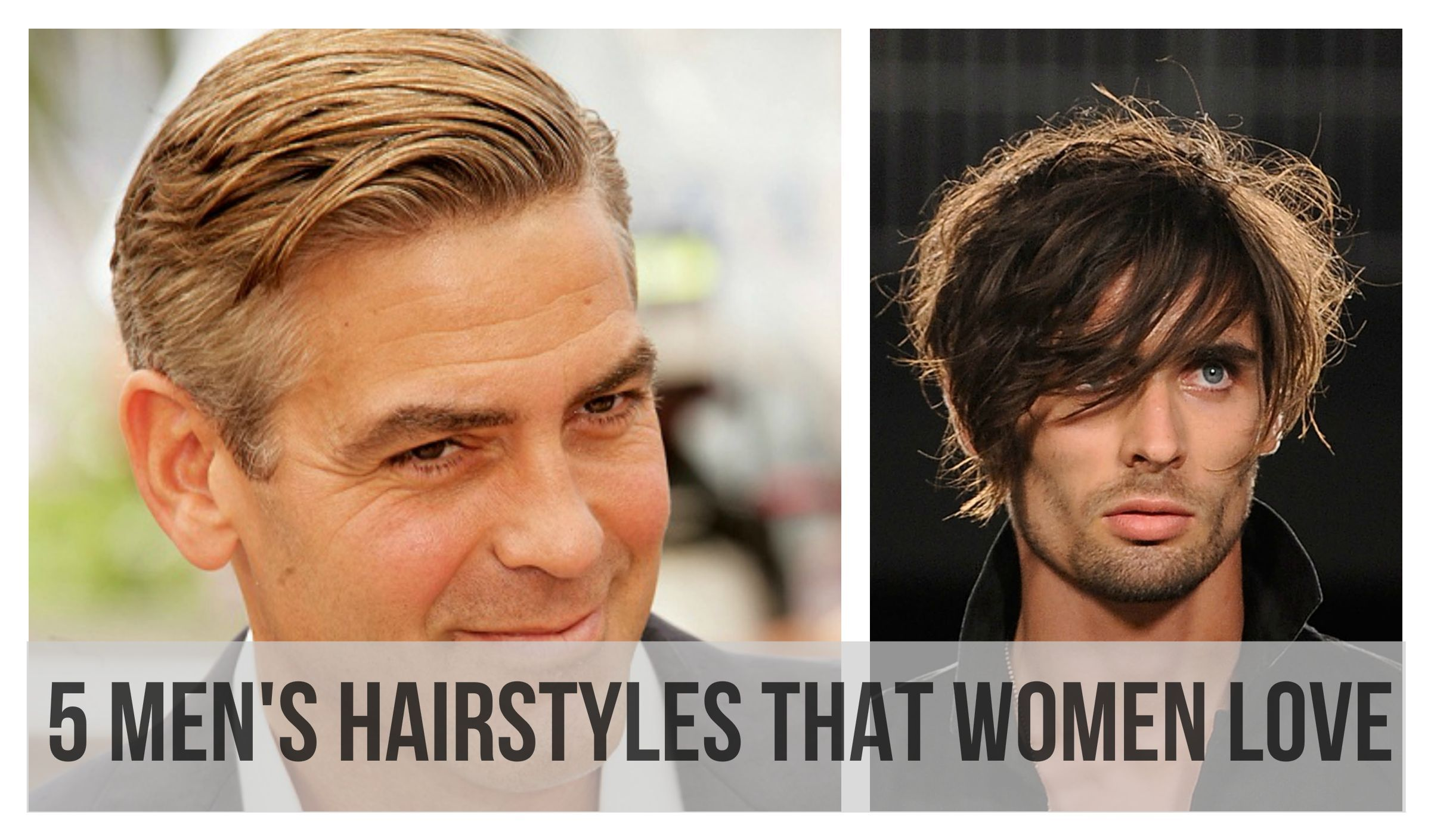 5 men's hairstyles that women love (#2 is our favorite