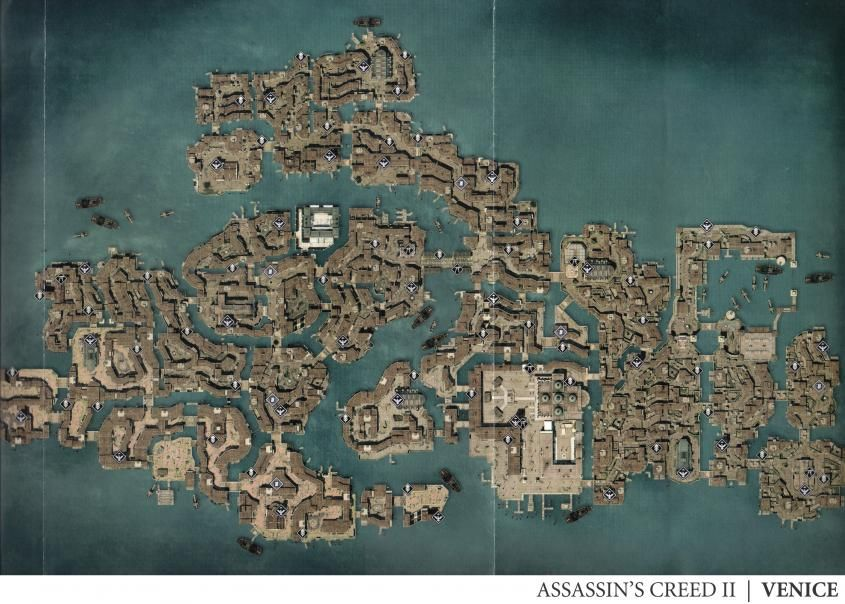assassin's creed 2 map drawing - Google Search   Assassins ...
