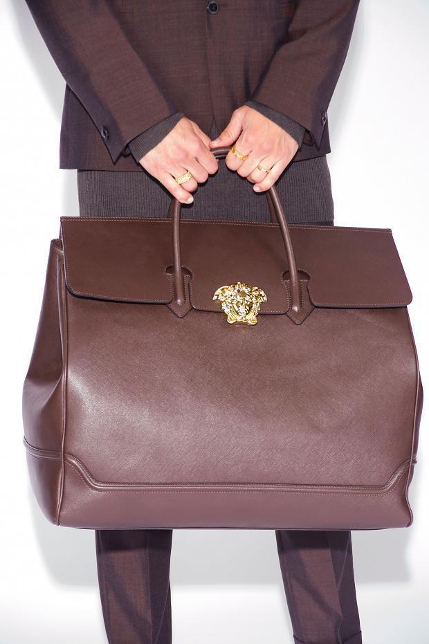Versace Versace Bag, Versace Fashion, Vogue Men, Men Bags, Leather  Accessories, 3ed8114267