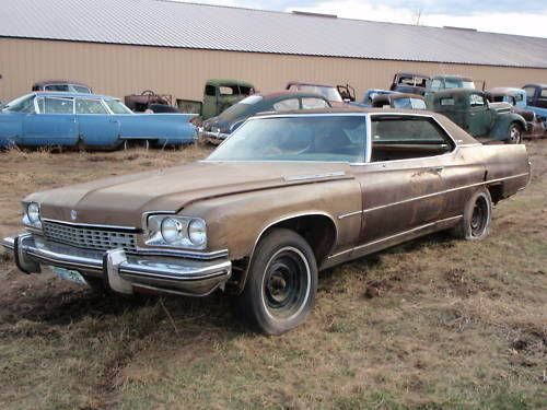 1973 buick limited tow package demo derby car ohio
