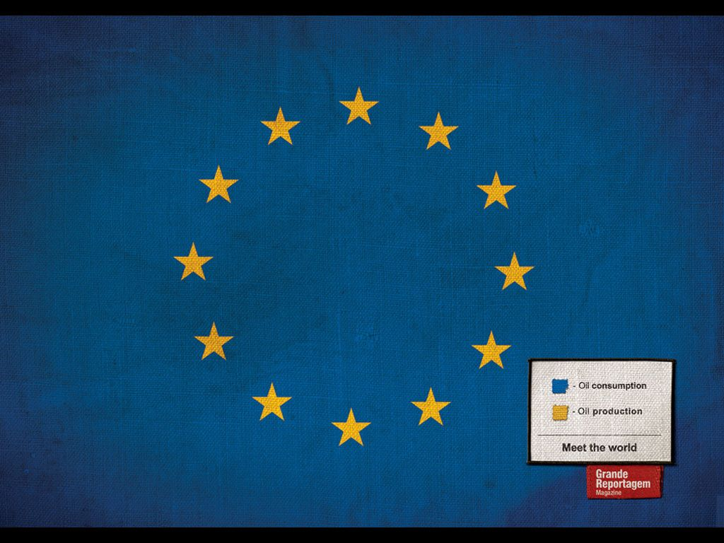 Revista Grande Reportagem - Flags (2005) Ad Agency: FCB, Lisbon.  Creative Director: Luis Silva Dias Art Director: João Roque Copywriter: Icaro Doria