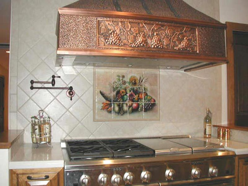 Cornucopia - Tile Mural | amazing!!! in 2019 | Kitchen ...