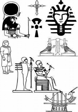 Egyptian Symbol Tattoos Nahual Egipcio Egipto Y Tatuajes