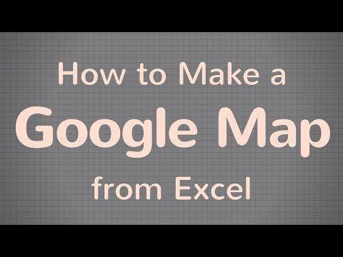 Short tutorial walks through how to create a Google Map using an