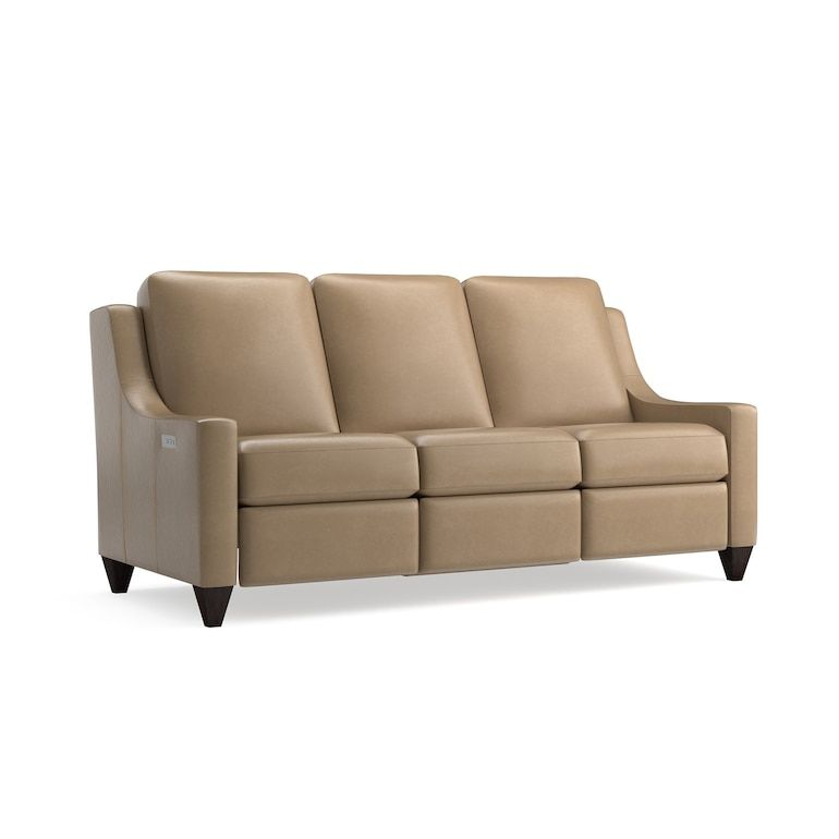 Magnificent Motion Reclining Leather Sofa In 2020 Leather
