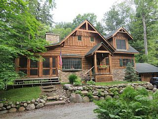Black Bear Crossing Adirondack Cabin Raquette Lake Cabin Log Cabin Rentals Lakefront Cabin Rentals