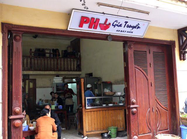 Pho pilgrimage, 49 Bat Dan, Hanoi