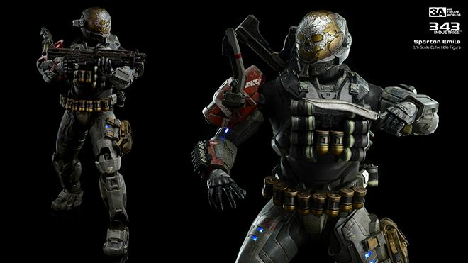 Pin by threeA on threeA x HALO | Halo spartan, Halo reach, Halo
