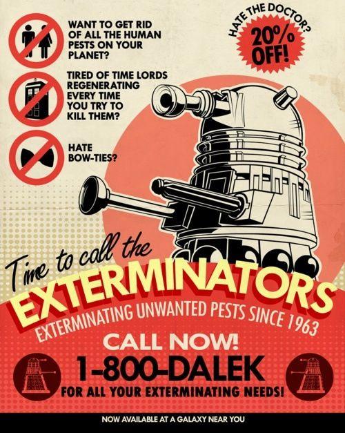 More Daleks