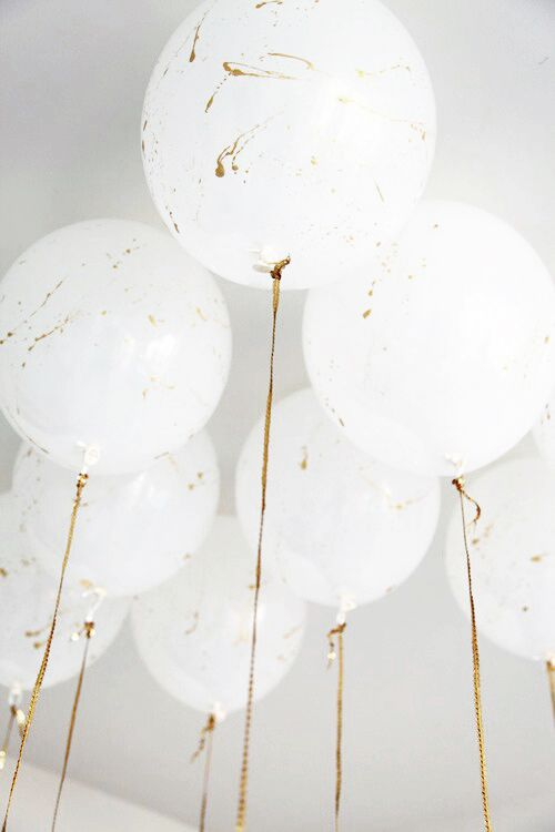 Celebrate with beautiful balloons.
