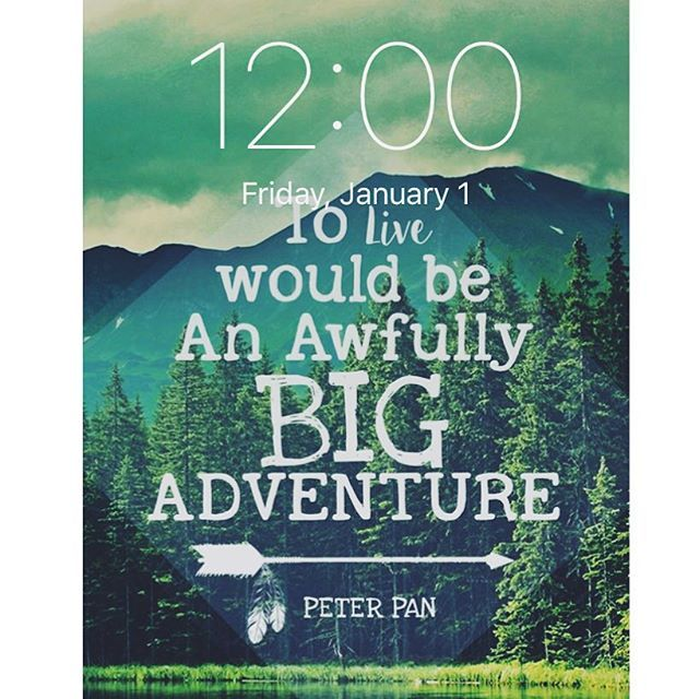 All About To Love Would Be An Awfully Big Adventure Peter Pan Quote