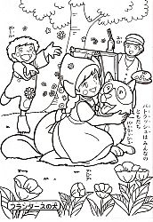 Fairytale Coloring