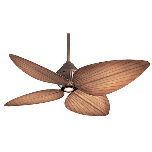 52 inch ceiling fan with four blades and light kit