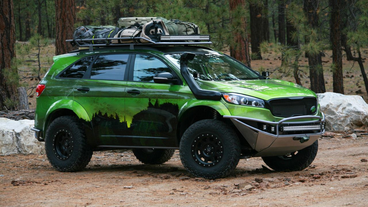 Kia Pacwest Adventure Sorento Arrives At Sema Kia Sorento