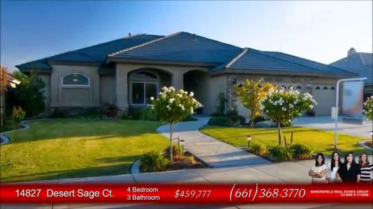 14827 Desert Sage Ct Bakersfield Home For Sale 661.368
