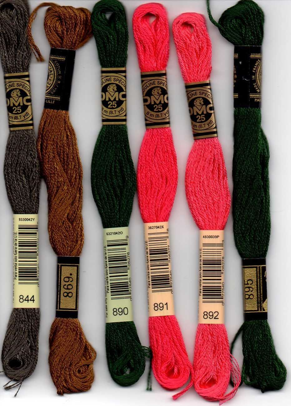 DMC Stranded Cotton Thread Colour 826 For Embroidery /& Cross stitch