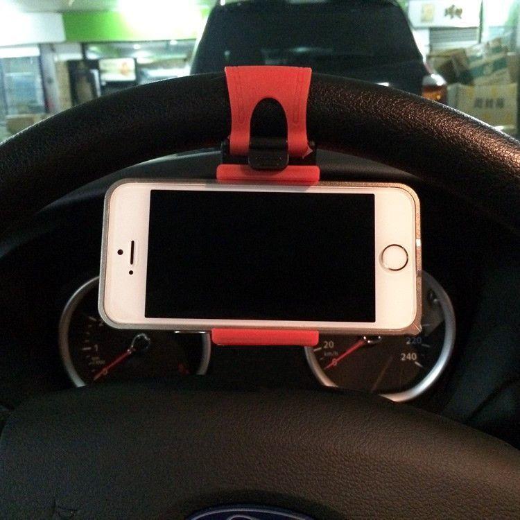 steering wheel mini car phone holder mobile phone holder mobile phone holder car phone holder. Black Bedroom Furniture Sets. Home Design Ideas
