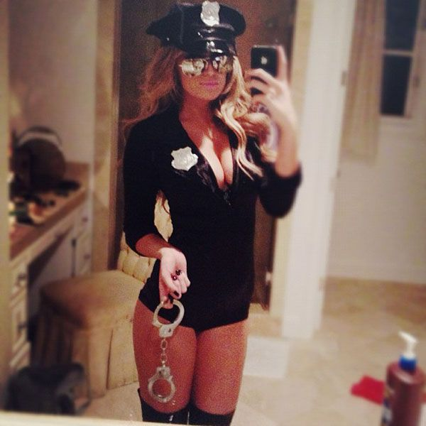 Paulina Gretzky Is Good At Halloween Outfits Sexy