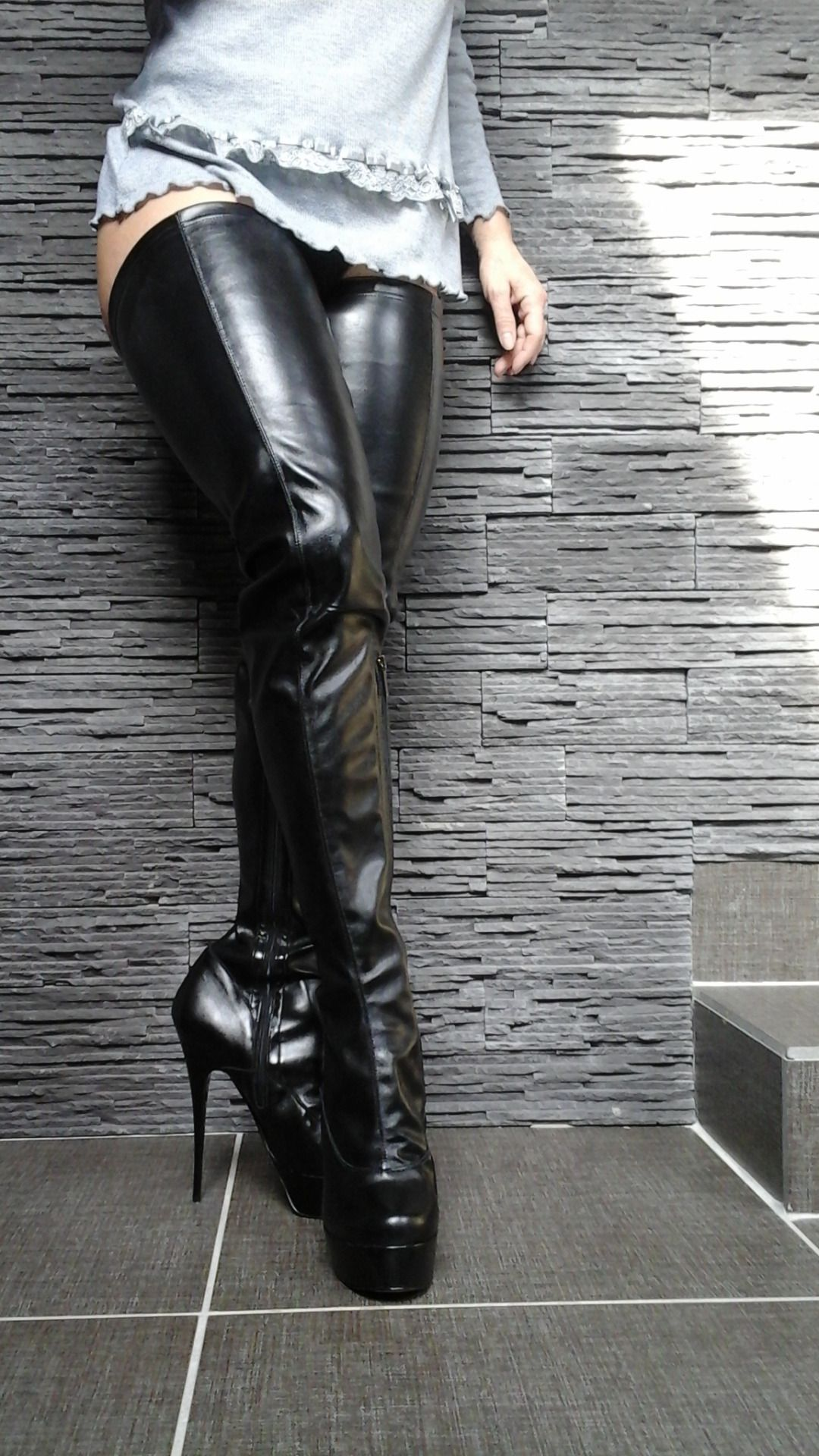 boots plus thigh high boots 2