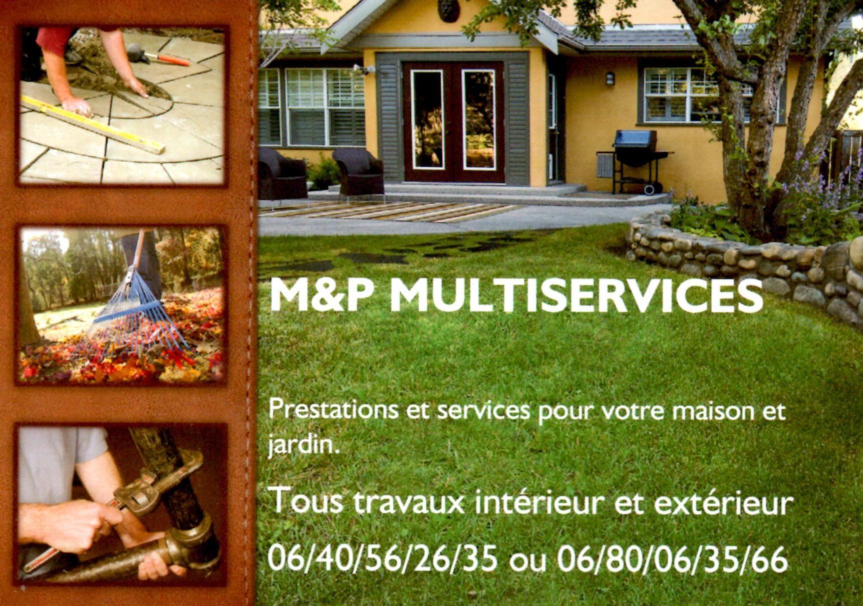 Affichette M P Multiservices Carte De Visite Sante Bien Etre Banderoles Cartes Prospectus