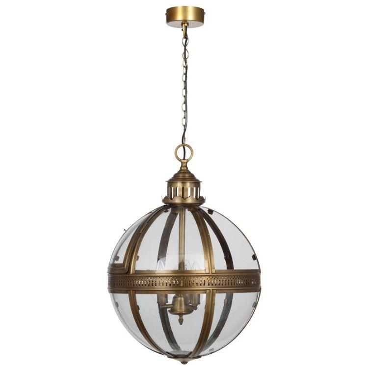 orb churchill pendant light antique brass u2013 allissias attic u0026 vintage french style