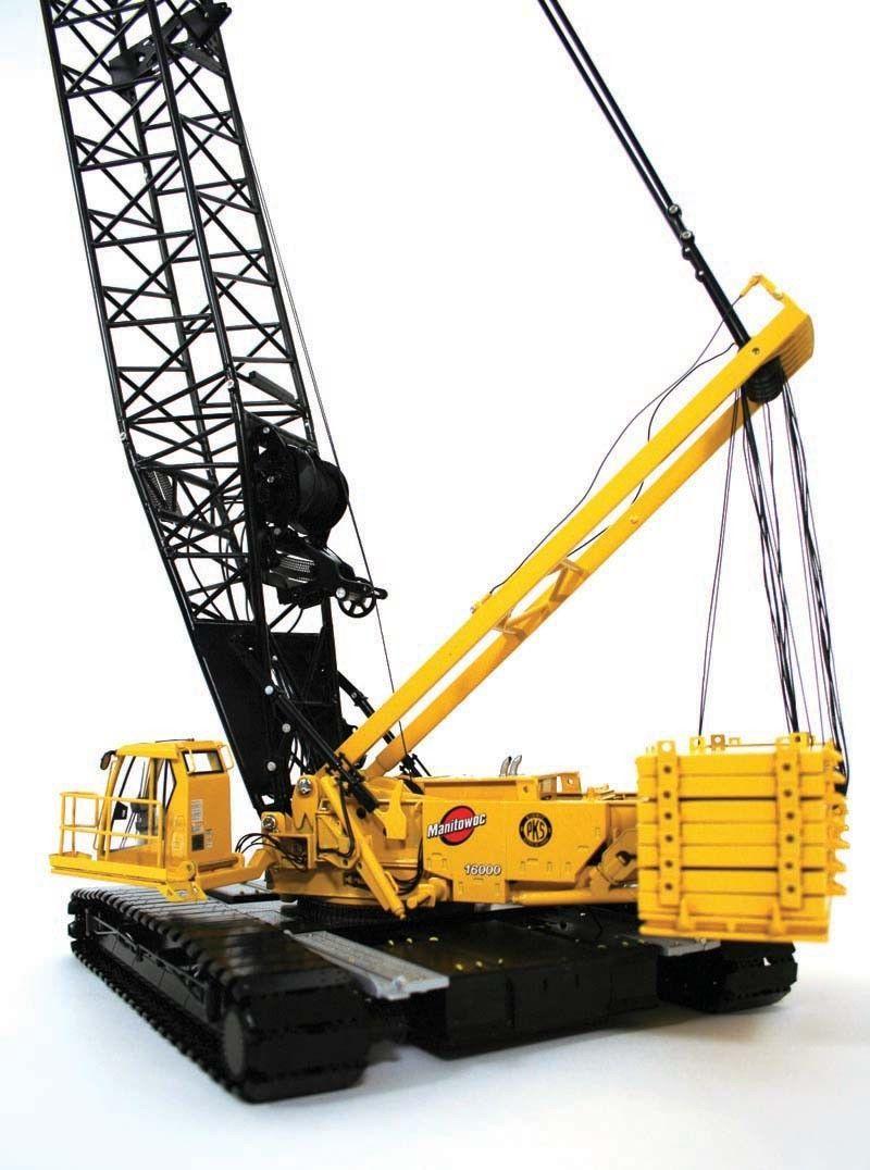 Twh 016k Manitowoc 16000 Crawler Crane Kiewit 1 50 Scale Die Cast Mib Crawler Crane Diecast It Cast