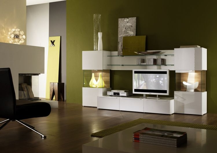 Wohnzimmer Wandfarben 2015 und 25 moderne Beispiele #beispiele - wandfarbe wohnzimmer beispiele