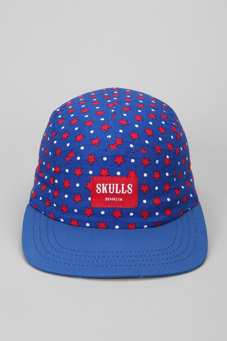 378e94cb9d588 SKULLS Amerrrica 5-Panel Hat  urbanoutfitters