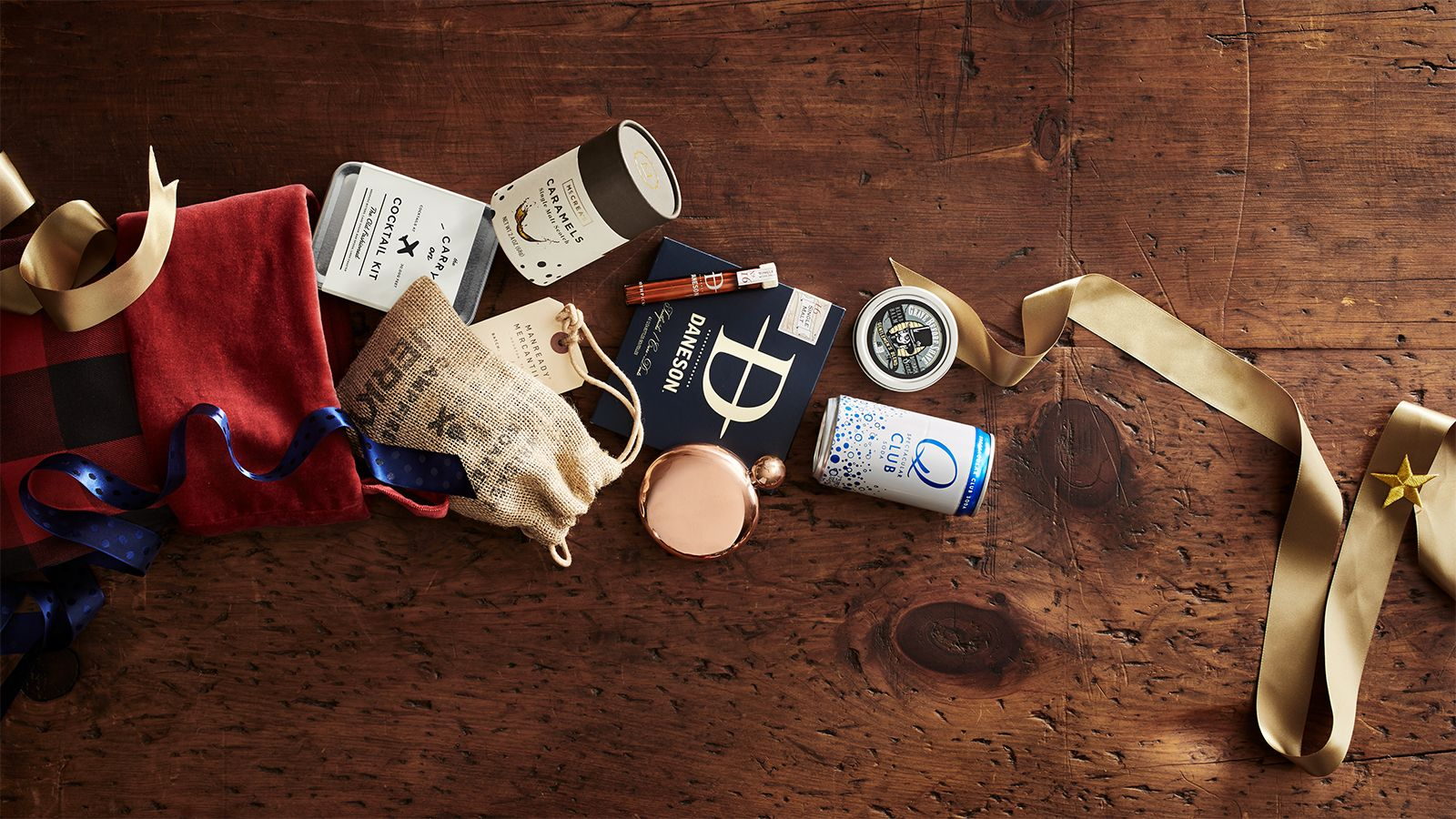 From candies to a cocktail kit these small gifts will