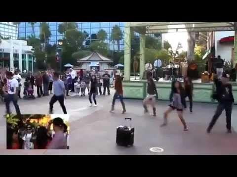 Hd Flash Mob Dances Marriage Proposal Bruno Mars Marry You