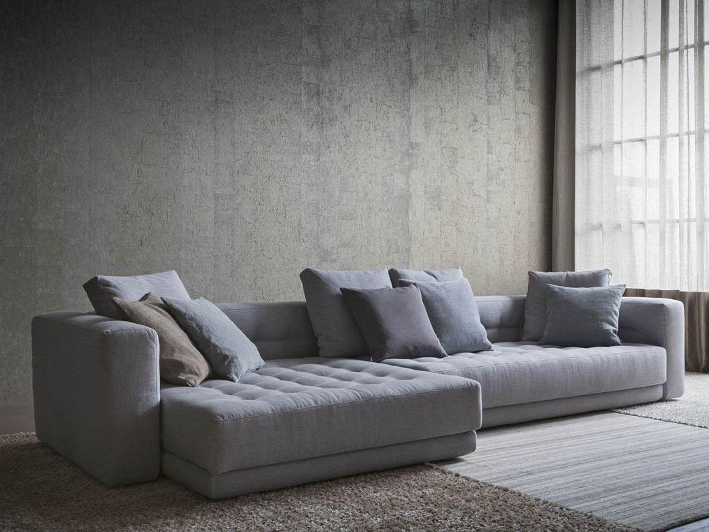 Corner Upholstered Fabric Sofa DOZE Doze Collection By Flou | Design  Rodolfo Dordoni
