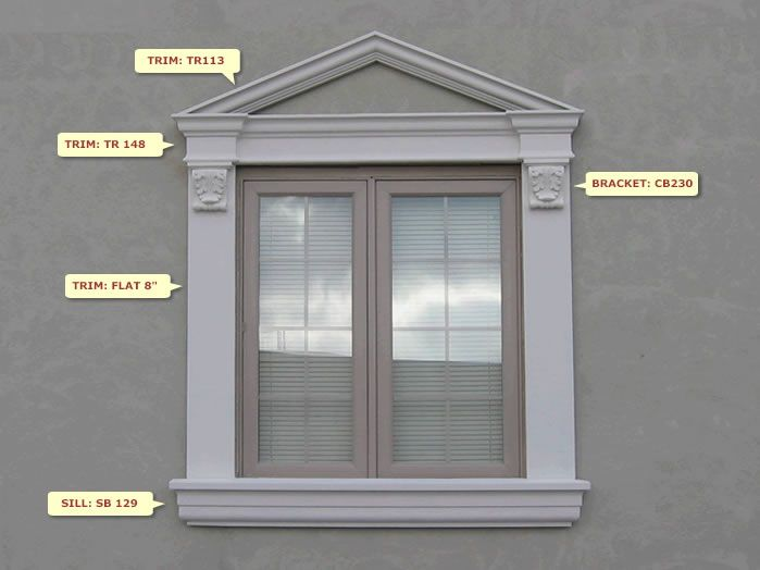 Window Design W 64 Windows Exterior Window Design Exterior Window Molding