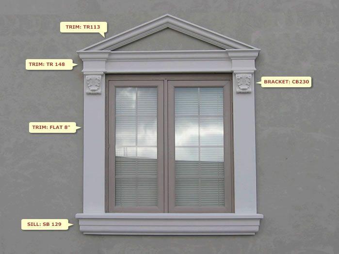 Window Design W 64 Windows Exterior Window Molding